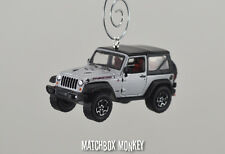 2013 10th Anniversary Jeep Wrangler Rubicon X Soft Top Christmas Ornament 1/64