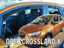 OPEL / GM / VAUXHALL CROSSLAND - X  2017 -  5D  Wind deflectors 4.pc HEKO 25395