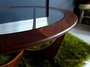 gplan coffee table astro table mid century teak table G Plan round table glass