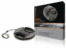 Camlink Snap-On/Pellizco Lente Tapa para Fuji FujiFilm FinePix HS30EXR HS33EXR HS30