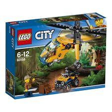 LEGO® City 60158 Dschungel Frachthubschrauber NEU_ Jungle Cargo Helikopter NEW