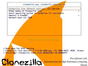 Clonezilla 2.7.0 Disk Partition Imaging Cloning LIVE CDs 32bit or 64bit