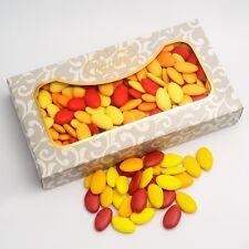 otoño tonos rojo y Amarillo Chocolate PELADILLAS DE LUJO Detalle De Boda Dulces