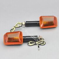 2x Motorcycle Bike Turn Signal Indicators Light Bulb Amber 12V Universal Orange