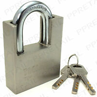 LARGE HIGH GRADE ~PROTECTED SHACKLE~ PADLOCK Anti Theft Door Security Lock 60mm