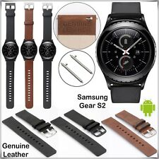20mm Genuine Leather Watch Band Samsung Gear S2 Classic R732 Replacement Strap