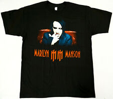 Marilyn Manson T-shirt Men's 100% Cotton Tee New