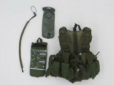 D&K WORKSHOP IDF GIVATI BRIGADE IN GAZA STRIP: MD Combatant Vest & Hydration Set