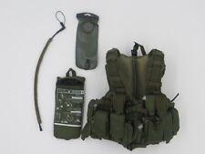 D&K WORKSHOP IDF GIVATI BRIGADE IN GAZA STRIP: MD Combatant Vest & Hydration Set