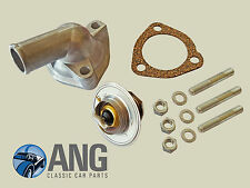 AUSTIN,MORRIS 1100,1300 ADO16 THERMOSTAT HOUSING, THERMOSTAT, GASKET & STUDS KIT