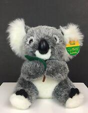 "Uniring Australia Koala Eucalyptus Leaf Plush 8"" Stuffed Toy with Tag"