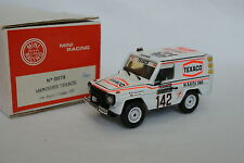 Mini Racing Kit monté 1/43 - Mercedes 280 GE Texaco Brasseur Paris Dakar 1983