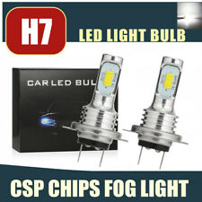 CSP H7 LED Headlight Bulbs Conversion Kit Super High/Low Beam 80W 4000LM 6000K