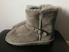 Kirkland Signature Unisex Genuine Sheepskin Low boots Grey Stud size 12 BNWT