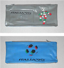 Astuccio ITALIA 90 Pencil Case pens - 1989 Fifa World Cup Football Calcio
