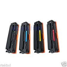 4pk Toner for HP 125A CB540A CB541A CB542A CB543A CM1312 CP1215 CP1515 CP1518