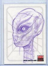 Topps STAR WARS GALAXY 5 SKETCH CARD by LAWRENCE SNELLY