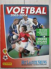 FOOT PANINI FOOTBALL 2003/2004 rare empty album 100% VIDE LEEG  Belgique België