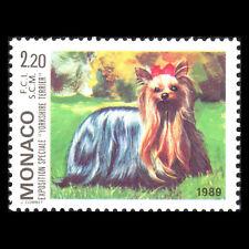 Monaco 1989 - International Dog Show - Sc 1704 MNH