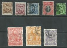 Ecuador 1881-1899 from an old collection mint/used (2002)