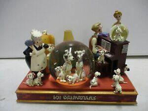Disney Store 101 Dalmatians Musical Snow Globe