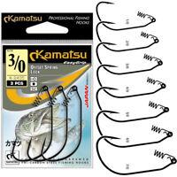KAMATSU K-2435 OFFSET SPRING LOCK HOOKS, HAKEN MIT KÖDER SPIRALE, ANGELHAKEN BF
