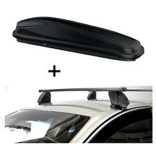 Dachbox JUEASY300L+Dachträger K1M für Hyundai Kona 5Türer ab 17