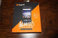 NEW Boost Mobile ZTE Prestige 2 Smartphone 4G LTE with 16GB Memory Prepaid Black