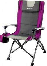 New Ozark Trail High Back Chair Camping Picnic Outdoor Folding Portable Hiking