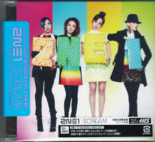 2NE1-SCREAM-JAPAN CD+DVD Ltd/Ed E78
