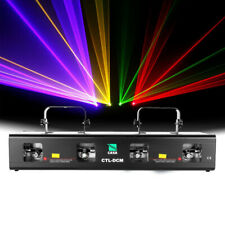 4Beam Red Green Yellow Purple Laser Light DMX Stage DJ Bar Party Show Club 460mW