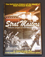 Strat Masters Definitive History the World's Most Famous Guitar DVD Fender RARE