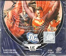 VS VERSUS SYSTEM Justice League of America BOX 24 PACKS NEW SEALED ITA