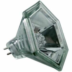 12 volt 50 watt MR16 Hexagonal Halogen Bulb replacement for Aurora AU-MR16/35HX