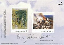 Finland 2013 MNH - Finnish Painter Eero Järnefelt Sheet - Sep 9, 2013 - Forest