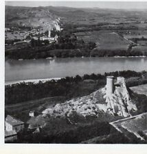 30 ROQUEMAURE SUR LE RHONE VUE AERIENNE IMAGE 1958 SKYVIEW PRINT