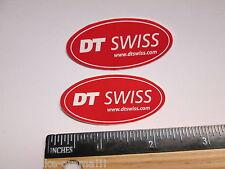 "TWO - 2"" DT SWISS Rim Hub (Dirt RIDE BMX DH MX MTB Frame Bike DECAL STICKER rbz"