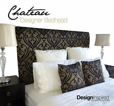 CHATEAU Bedhead for Queen Size Ensemble - Onyx