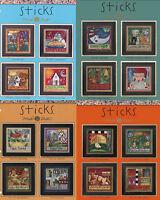 STICKS Kits by Mill Hill- U CHOOSE
