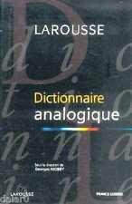 DICTIONNAIRE ANALOGIQUE, Larousse