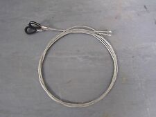 Garage door Cardale CD Canopy Pro Cables with plastic eyelets. UK Made High