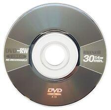 2x Maxell Blank Mini 8CM DVD-RW Re-Writable Disc Metallic Grey (4x 30min 1.4GB)