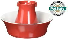 PetSafe Drinkwell Avalon Ceramic Pet Water Fountain, 70 oz. Red **MAKE OFFER**