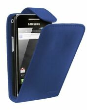 UK BLUE FLIP LEATHER PHONE CASE WITH CARD SLOT FOR Samsung Galaxy S3 Mini