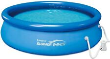 New listing In Hand- Summer Waves 10' x 30' Quick Set Inflatable Above Ground Pool With Pump