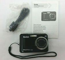 Kodak Digital Camera PIXPRO FZ43 16 MP Friendly 4x Zoom Black Tested Works