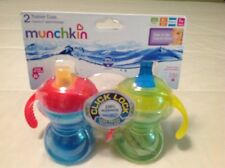 Toddler Munchkin  trainer cups click lock leak proof set of two new in package