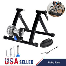 Fluid Bike Trainer Stand Bicycle Exercise Training Indoor Home Cycling Riding US
