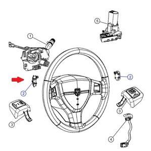 Steering Wheel Radio Control- Left MOPAR 04685729AB