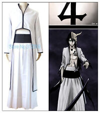 Anime Cosplay Bleach 4th Espada Ulquiorra Schiffer Cosplay Costume Coat+Pants